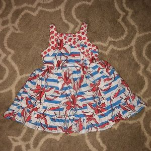Red white and blue dress perfect for July 4th